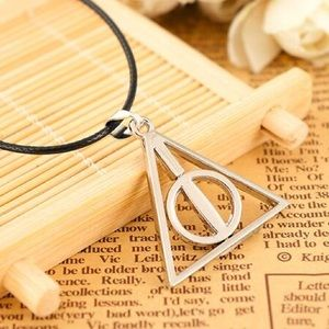 Jewelry - Harry Potter Deathly Hallows Triangular Necklace